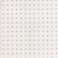 Modern Backgrounds Colorbox - Crosses Fog Graphite