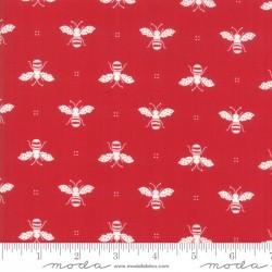 My Redwork Garden - Honey Bee Red
