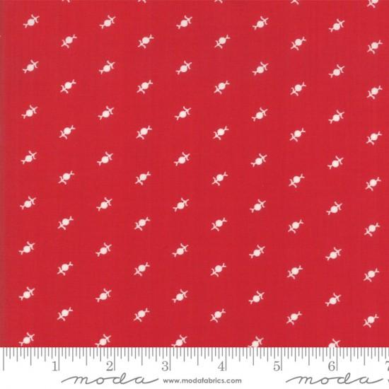 My Redwork Garden - Dandelions Red
