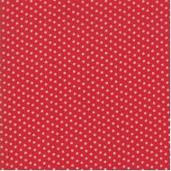 My Redwork Garden - Cobblestone Red