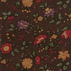Nature's Glory - Brown Floral