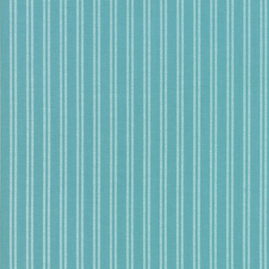 Nest - Turquoise Farmhouse Stripe
