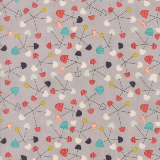 Ninja Cookies - Grey Pinwheels