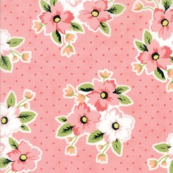 "Olive's Flower Market - Nosegay Pretty Pink - 59"" Bolt End"