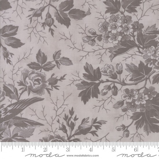 Quill - Tonal Feather Bird Toile