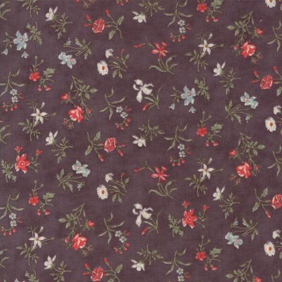 Quill - Dark Mauve Blossoms
