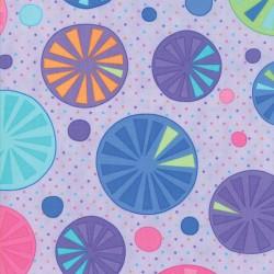 Rainy Day - Pouring Purple Umbrella Tops