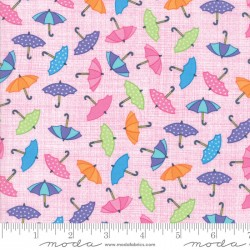 Rainy Day - Umbrella Pink Raining Umbrellas