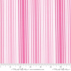 Rainy Day - Umbrella Pink Pouring Stripe