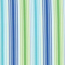Rainy Day - Green Blue Pouring Stripe