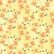Refresh - Yellow Trailing Floral