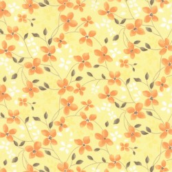 """Refresh - Yellow Trailing Floral - 12"""""""