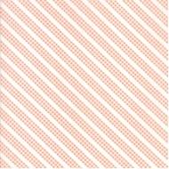 Sunnyside Up - Coral Bias Gingham Stripe