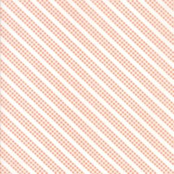 Sunnyside Up - Coral Bias Gingham Stripe