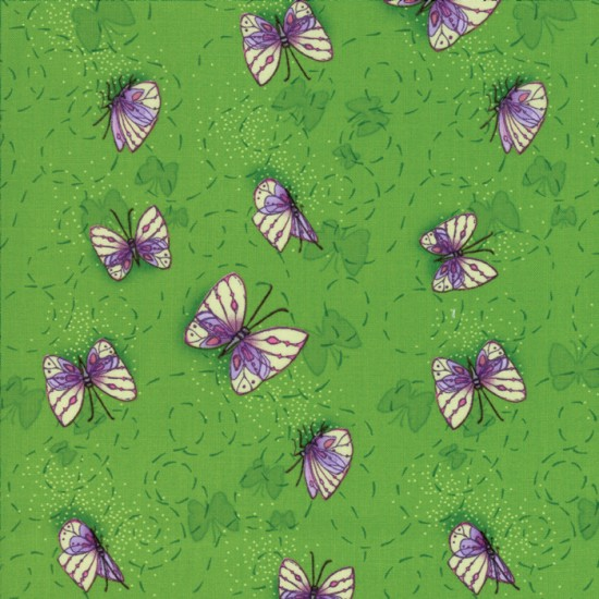 Sweet Pea and Lily - Butterflies Leaf