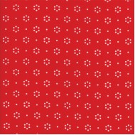 The Good Life - Red Floral Dot