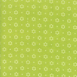 "The Good Life - Floral Dot Green - 45"" Bolt End"