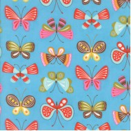 Wing and Leaf - Periwinkle Flutter