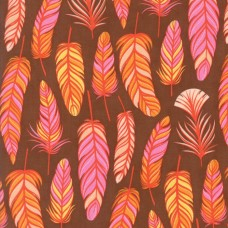 Wing and Leaf - Chestnut Floral Feathers