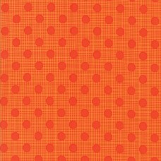 Wing and Leaf - Persimmon Tonal Dots