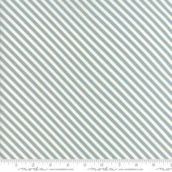 Woof Woof Meow - Bias Stripe Aqua