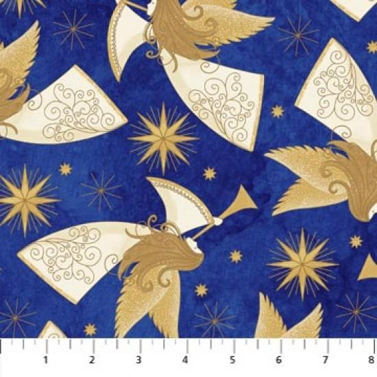 Angels Above - Blue Gold Angels