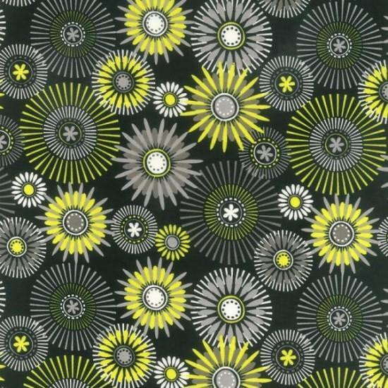 Modern Garden - Black Floral