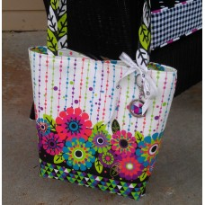Blooming Tote Panel
