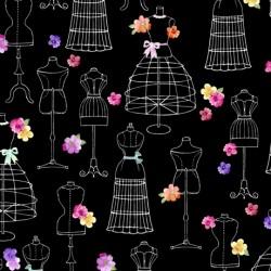 Amour de Fleur - Black Mannequins