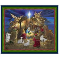 Holy Night Nativity Panel