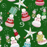 Happy Christmas - Snowman Toss Forest - PRE-ORDER DUE JUNE