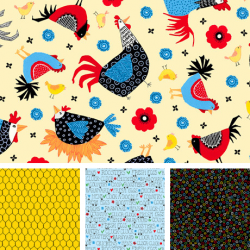 Count Your Chickens - Fat Quarter Bundle