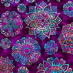 Kashmir - Mandalas Violet