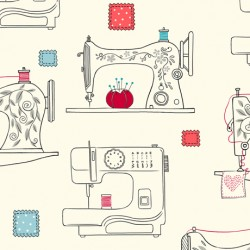 Sew What? - Sewing Machines Cream