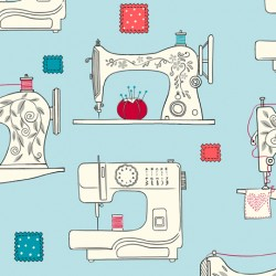 Sew What? - Sewing Machines Aqua