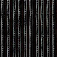 Sew What? - Tape Measure Stripe Black