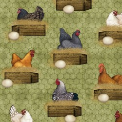 Sunrise Farm - Hens Nesting Moss - PRE ORDER DUE OCTOBER
