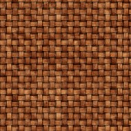 Sunrise Farm - Basketweave Rust