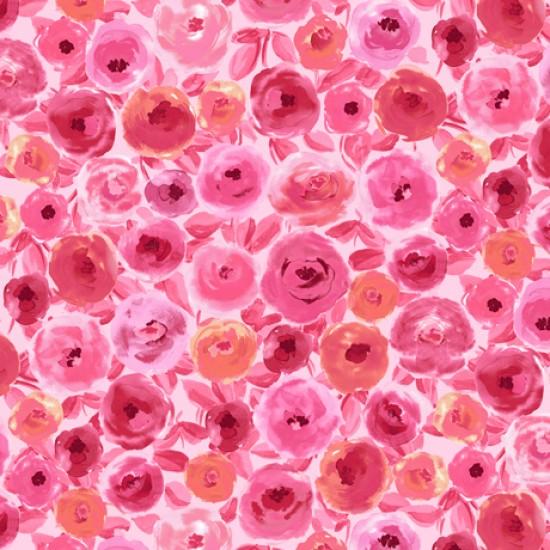 Sweet Caroline - Packed Floral Pink