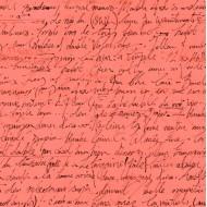 Sweet Caroline - Calligraphy Coral