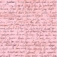 Sweet Caroline - Calligraphy Pink