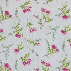 Rico - Grey Pink Flowers