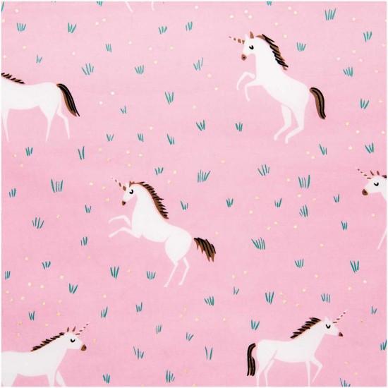 Wonderland - Rose Unicorn Hot Foil