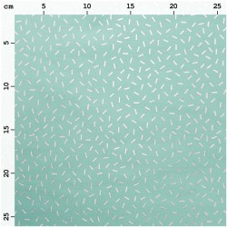Wonderland - Mint Strokes Hot Foil