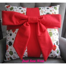 All Wrapped Up Cushion Kit - X-Mas and Red