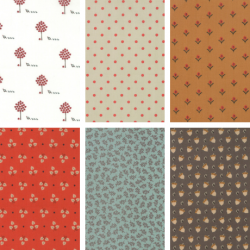 101 Maple Street - Fat Quarter Bundle 1