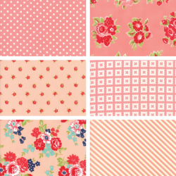 Bonnie and Camille - Fat Quarter Bundle Pink