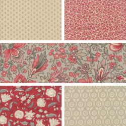 Chafarcani - Fat Quarter Bundle 1 - PRE ORDER DUE OCTOBER