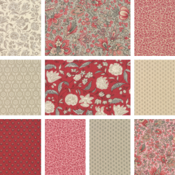 Chafarcani - Fat Quarter Bundle 3 - 10 FQs, 1 FQ free