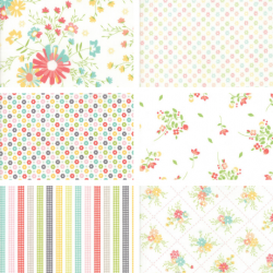 Corey Yoder - Fat Quarter Bundle White